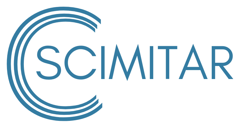 Scimitar Logo Blue