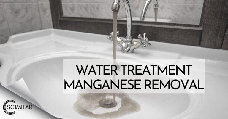 Top 6 phương pháp xử lý nước nhiễm mangan